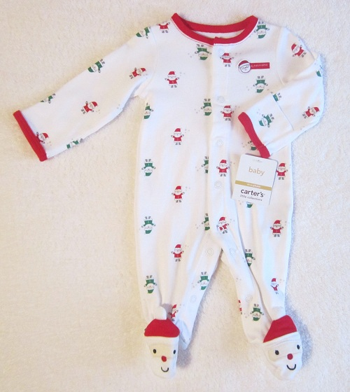 eb6684ac9 Newborn Boy Girl Christmas Outfit Santa Red Green