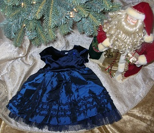 Plaid Christmas Dress 4t