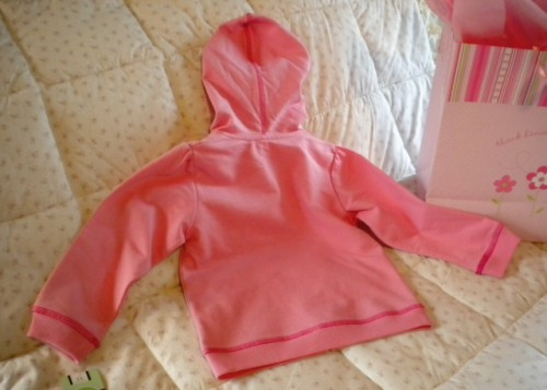BE Basic Pink Toddler Girl Hooded Jacket  24MTH