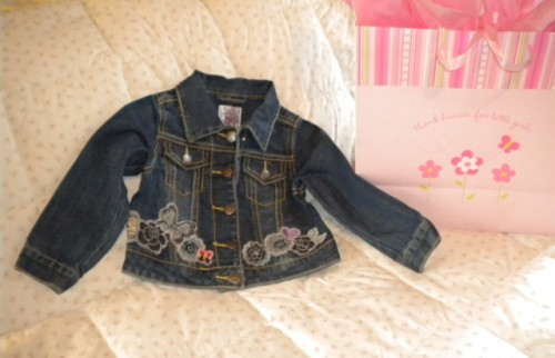 The Children's Place Baby Toddler Girl Denim Jacket  24MTH