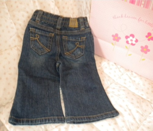 The Children's Place Baby Toddler Girl Dark Jeans 12MTH