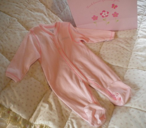 Calvin Klein Infant Baby Girl Pink Outfit 6-9MTH