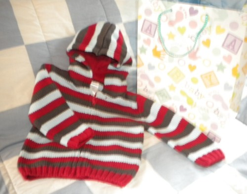 Gymboree Baby Toddler Boy Striped Sweater 12-18MTH