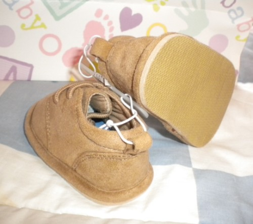 The Children's Place Infant Baby Boy Tan Shoe 0-3MTH