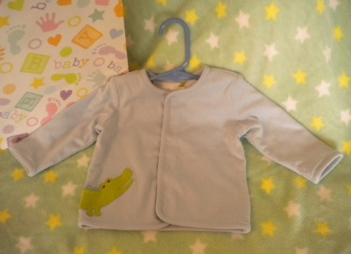 Gymboree Infant Baby Boy Blue 'Gator Jacket 3-6MTH