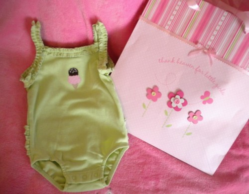 Gymboree Infant Baby Girl Green Romper 3-6MTH