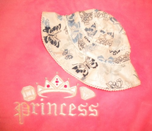 Old Navy Infant Baby Girl Butterfly Print Sunhat 0-3MTH