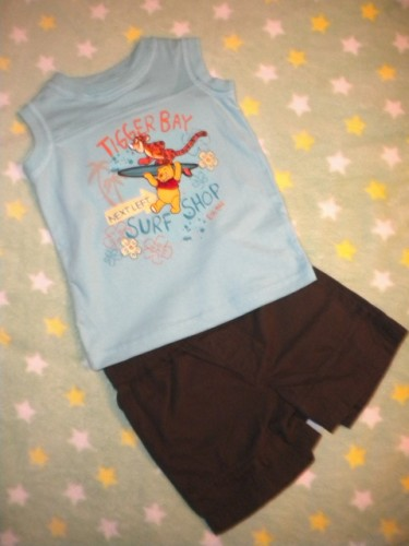 Disney Baby Toddler Boy Shorts Set Size 12MTH