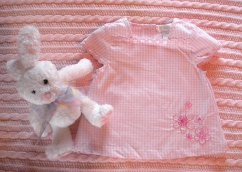 First Moments Infant Baby Girl 2 Piece Capri Set 3-6MTH