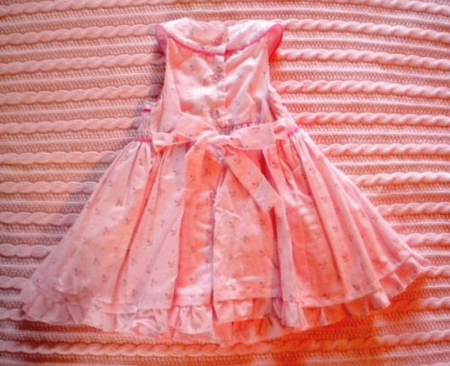First Impressions Infant Baby Girl Pink Dress 3-6MTH