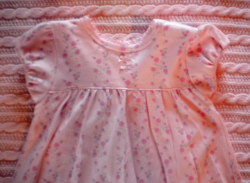 Koala Baby Infant Baby Girl Pink Floral Dress 6-9MTH
