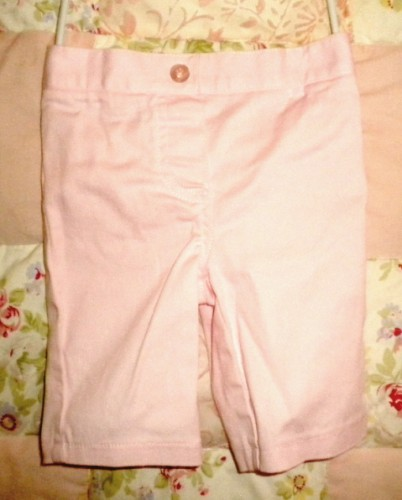 Miniwear Baby Toddler Girl 2PC Pink Capri Set 12MTH