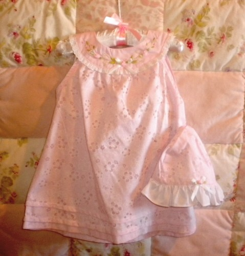 Youngland Baby Toddler Girl Pale Pink Dress 18MTH