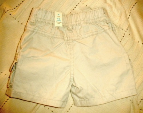 The Children's Place Infant Baby Boy Lt. Tan Shorts 6-9MTH