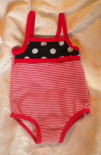 4th of July Carter's Infant Baby Girl Bathing Suit & Cover Up 3MTH