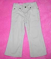 Sonoma Baby Toddler Girl Tan Boot Cut Pants 3T