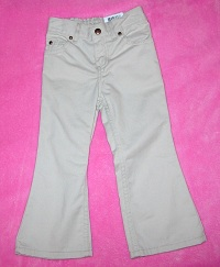 Sonoma Toddler Girl Light Tan Flare Pants 4T
