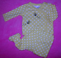 Gymboree Infant Baby Girl 2PC Bumble Bee Outfit 3-6MTH