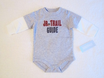 Gymboree Infant Baby Boy Jr. Trail Guide Onesie 3-6MTH