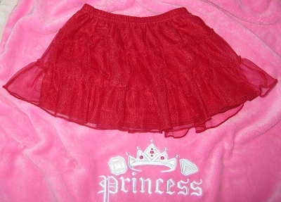 Holiday Time Baby Toddler Girl Red Tutu Skirt 18MTH