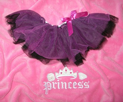 Baby Gear Infant Baby Girl Hot Pink & Black Tutu 0-12MTH