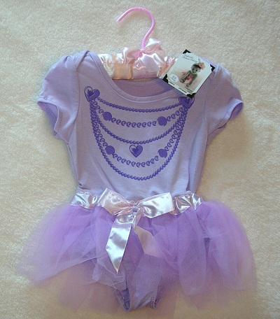 Princess Expressions Infant Baby Girl Purple Tutu Outfit 6-12MTH