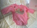 The Children's Place Infant Baby Girl Elephant Onesie 3-6MTH