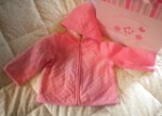 Gymboree Baby Toddler Girl Pink Hooded Coat 18-24MTH