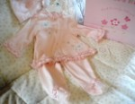 Little Me Infant Baby Girl 3 Piece Pink Outfit 6MTH
