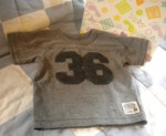 The Children's Place Infant Baby Boy Short Sleeve Athletic Shirt 6-9MTH