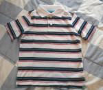 Jumping Beans Toddler Boy Short Sleeve Striped Shirt 3T