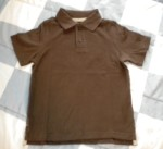 Jumping Beans Toddler Boy Short Sleeve Brown Shirt 4T