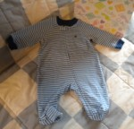 Faded Glory Infant Baby Boy Organic Cotton Outfit 0-3MTH