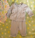 First Impressions Preemie Baby Boy Outfit with Boats