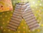 Gymboree Infant Baby Boy Blue Striped Pants 6-12MTH