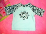 Koala Kids Infant Baby Girl Blue Beach Shirt 0-3MTH