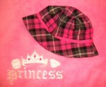 The Children's Place Infant Baby Girl Pink Plaid Sunhat 6-12MTH