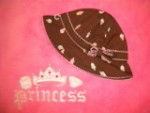 Gymboree Baby Toddler Girl Brown Ice Cream Sunhat 12-18MTH