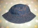 Baby Gap Infant Girl Boy Denim Sunhat 6-12MTH
