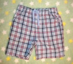 Jumping Beans Toddler Boy Blue Plaid Shorts 3T