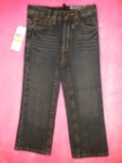 Calvin Klein Toddler Girl Dark Blue Jeans 3T