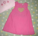 Gymboree Toddler Girl Pink Corduroy Jumper 2T