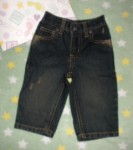 "Gymboree Infant Baby Boy ""Worn Look"" Jeans 3-6MTH"