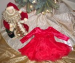 Christmas Rare Editions Red Holiday Dress 12MTH