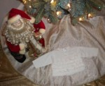 Christmas The Children's Place Infant Baby Girl Ivory Ruffle Sweater 0-3MTH