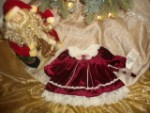 Christmas Rare Editions Burgundy Holiday Dress 9MTH