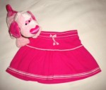 Carter's Baby Toddler Girl Pink Skirt 12MTH