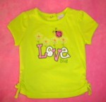 Little Miss Attitude Infant Baby Girl Green