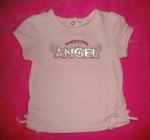 Little Miss Attitude Infant Baby Girl Pink