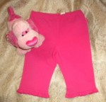 The Children's Place Baby Toddler Girl Bright Pink Ruffled Pants 24MTH